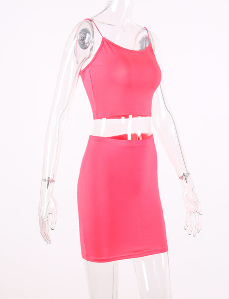 Ella Love Neon Pink Two Piece Co Ord