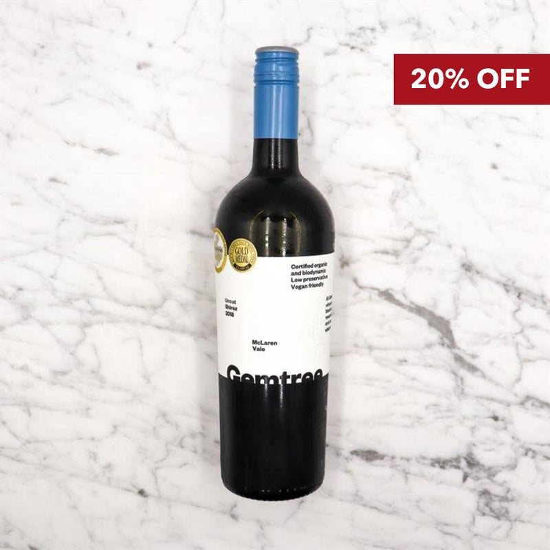 2018 Gemtree Moonstone Uncut Shiraz - 750ml Vic's Meat
