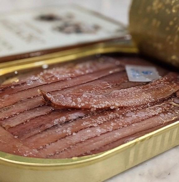 Anchovies Conservas Angelachu 115g Vic's Meat