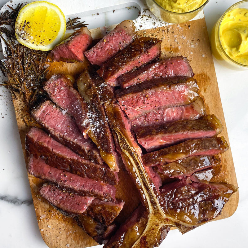 Beef Bistecca alla Fiorentina Black Onyx Rangers Valley - 1kg Vic's Meat