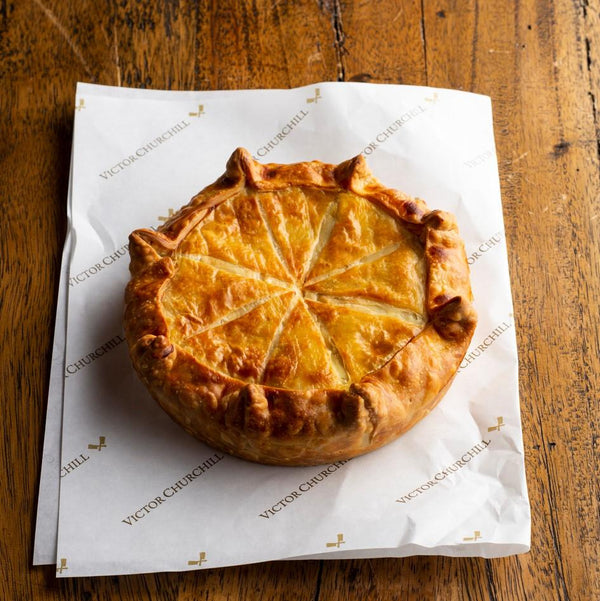 Beef & Oxtail Tourte by Victor Churchill - Family serve Vic's Meat