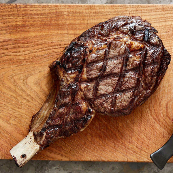 Beef Rib Eye Steak Grass Fed Angus Premium O'Connor Dry Aged - 900g Vic's Meat