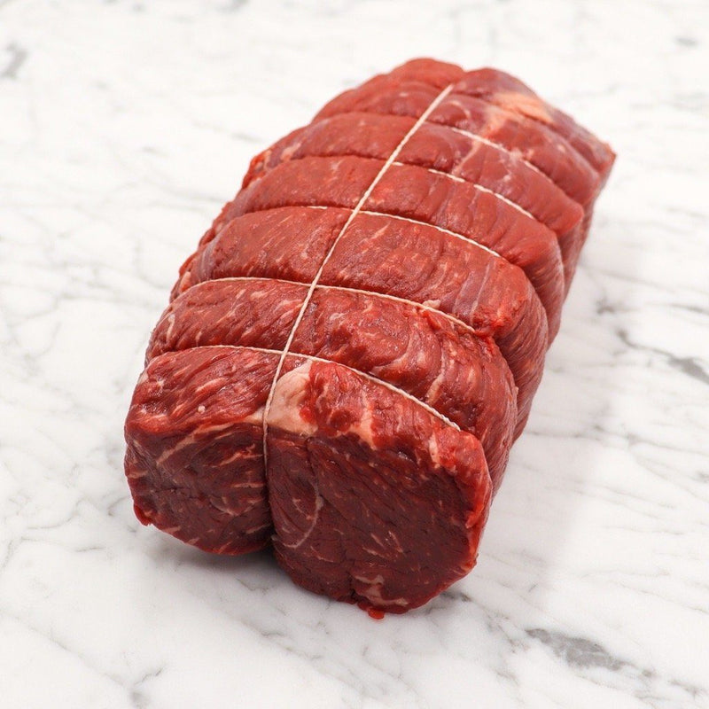 Beef Rump Roast Hand Tied Grass Fed / Grass Finished - 1.3kg x 1 Piece Vics Meat