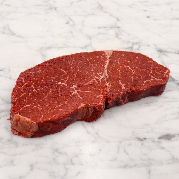 Beef Rump Steak Centre Cut Grass Fed Angus Premium O'Connor - 500g Cryo Vac Vic's Meat