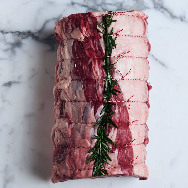 Beef Scotch Fillet Roast Grass Fed Premium Angus O'Connor (1 piece approx. 1.5kg) Vic's Meat