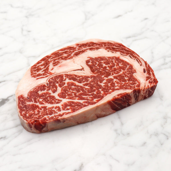 Beef Scotch Fillet Steak Marble Score 5+ Black Market Rangers Valley - 300g Vic's Meat