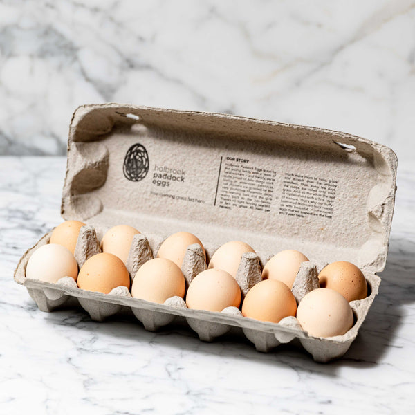 Chicken Eggs Free Roaming Grass Fed Holbrook - 700g Original Packaging from Manufacturer Vic's Meat