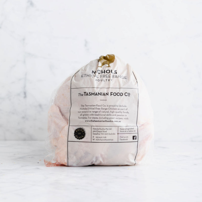 Chicken Whole Nichols Ethical Free Range (1.4-1.59kg) Vic's Meat