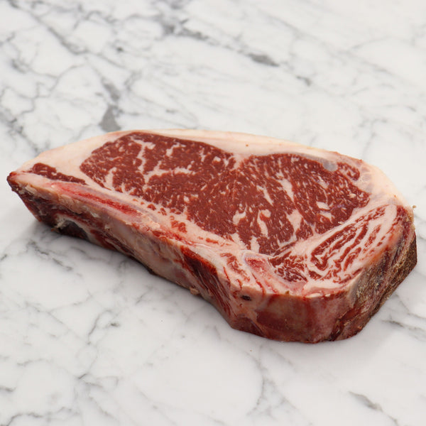 Dry Aged Wagyu Shorthorn Cross Sirloin Club Steak Marble Score 6 - 600g Vic's Meat