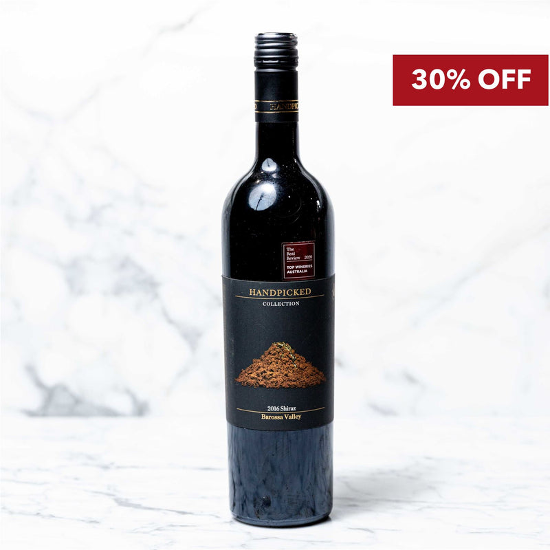 Handpicked Collection Barossa Valley Shiraz 2016 - 750ml Vic's Meat