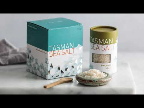 Tasman Natural Sea Salt Flakes with Pepper Berry - 80g