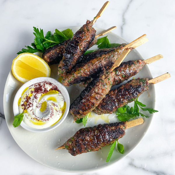 Lamb Kofta 115g x 6 Pieces Map 40mm Vic's Meat