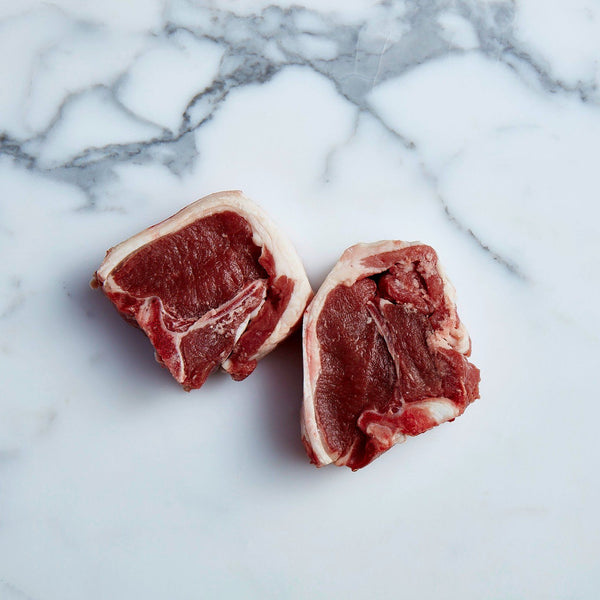 Lamb Loin Chops Free Range (6x pieces approx. 800-900g) Vics Meat