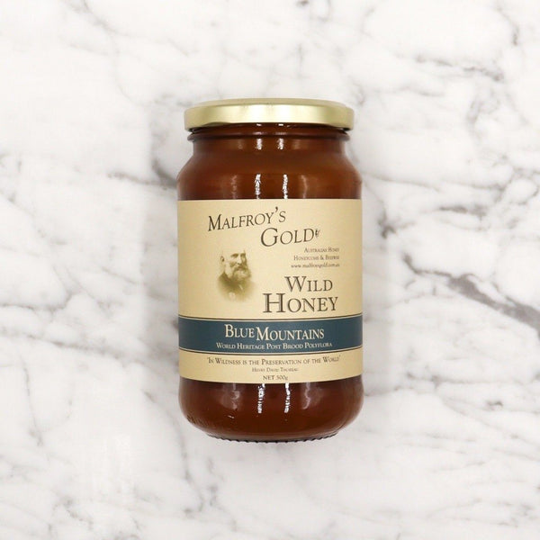 Malfroy's Wild Honey World Heritage Post Brood Polyflora - 500ml Vic's Meat
