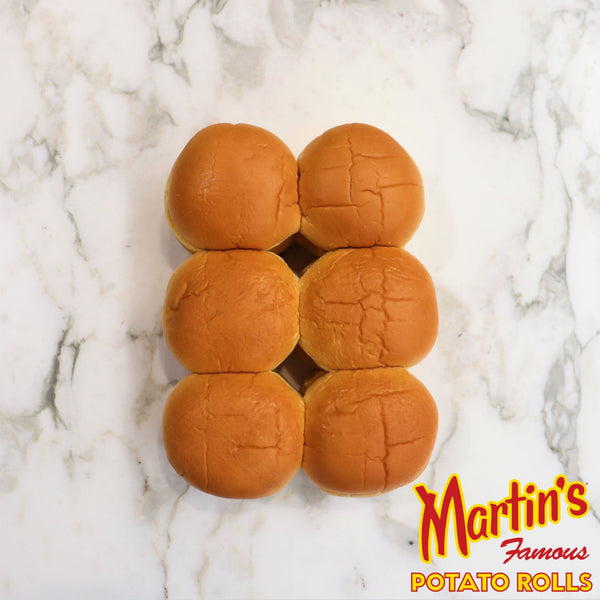 Martin's Famous Potato Burger Rolls - 12 Pack Original Packaging from Manufacturer Vic's Meat