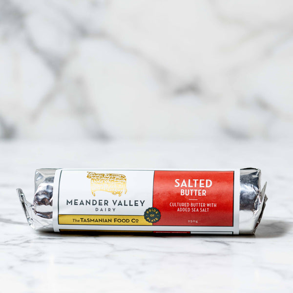 Meander Valley Dairy Salted Cultured Butter - 250g Vic's Meat