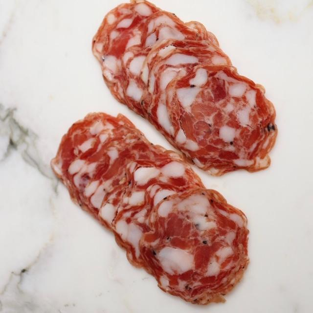 Pork & Black Truffle Salami Kurobuta Rare Breed Berkshire - 250g Sliced Original Packaging from Manufacturer Vic's Meat