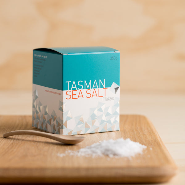 Tasman Natural Sea Salt Flakes - 250g Vic's Meat