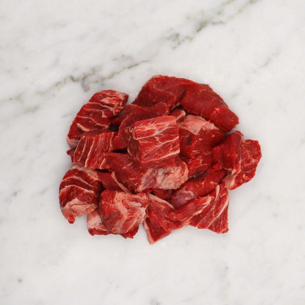 Wagyu Blackmore Fullblood Braising Beef Diced - 500g Vic's Meat