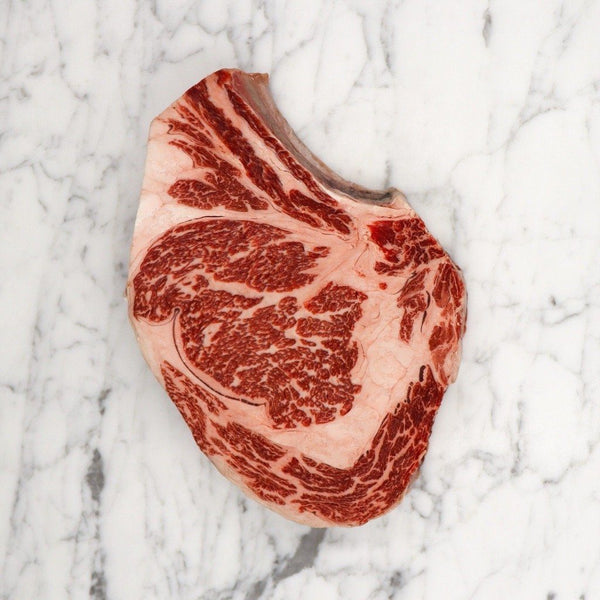 Wagyu Rib Eye Steak Marble Score 9 Rangers Valley - 1kg Cryo Vac Vic's Meat