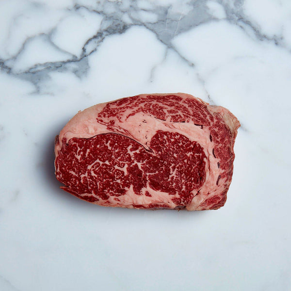 Wagyu Scotch Fillet Steak Marbling Score 5 (1 piece approx. 300-350g) Vics Meat