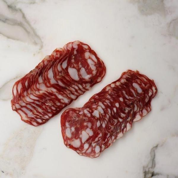 Wild Boar Salami Salami De Palma - 200g Sliced Original Packaging from Manufacturer Vic's Meat