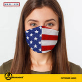 American Flag Face Cover - Made in U.S.A - Fast Shipping