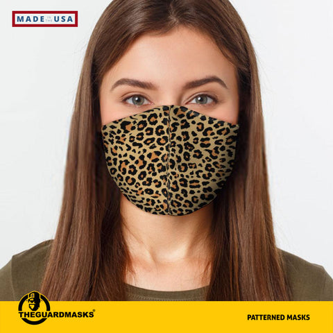Cheetah Face Cover  Made In U.S.A - Fast Shipping