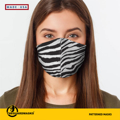 Zebra Print Face Cover  - Fast Shipping