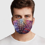July Fourth Face Cover