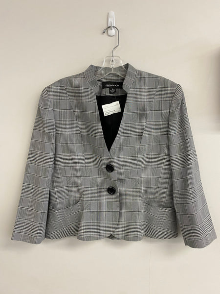 Jones New York Plaid Blazer (6)