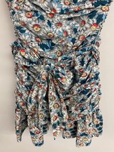 French connection floral Dress size small