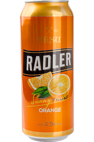 CĒSU RADLER ORANGE 2,5% 0,5L CAN