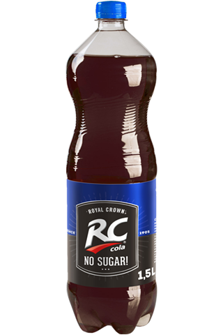 RC COLA No SUGAR 1,5L