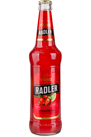 CĒSU RADLER STRAWBERRY 2,5% 0,5L
