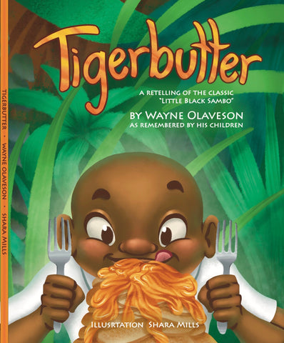 Tigerbutter front cover