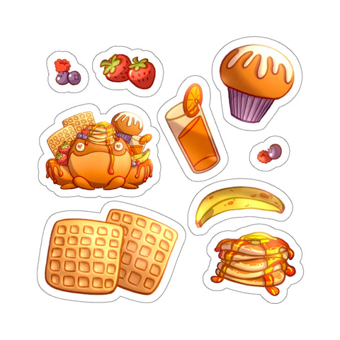 Loaded Breakfast Sticker Sheet - Flavor You Can SEE! 🍓🍌
