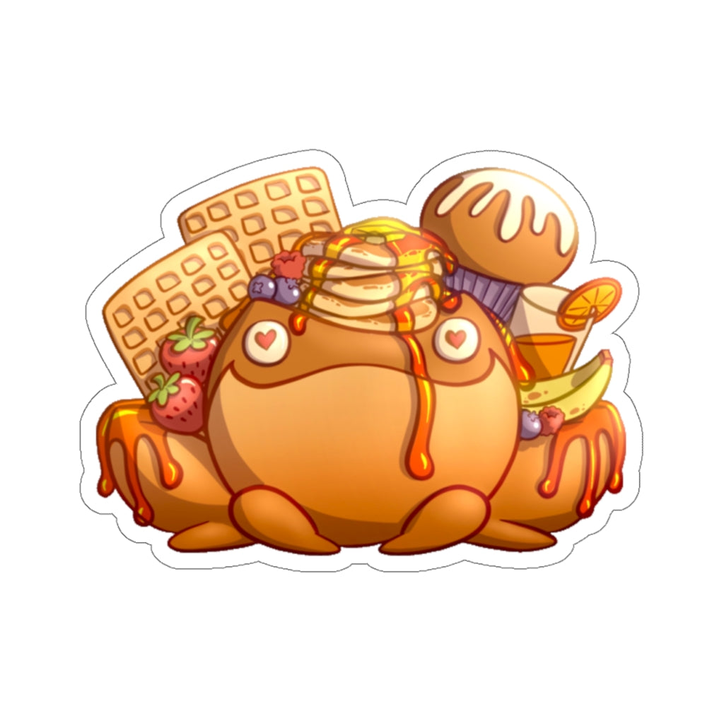 Loaded Breakfast Art Sticker [Flavor For Your EYEBALLS]