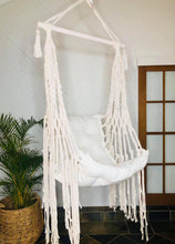 Load image into Gallery viewer, Macrame Swing Chair