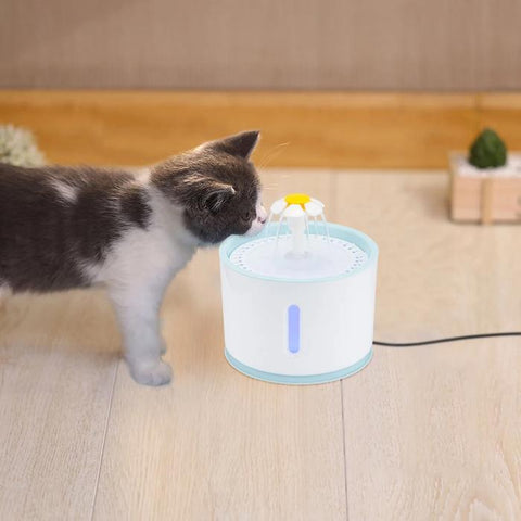 Image of The Cat Light-Up Fountain - full