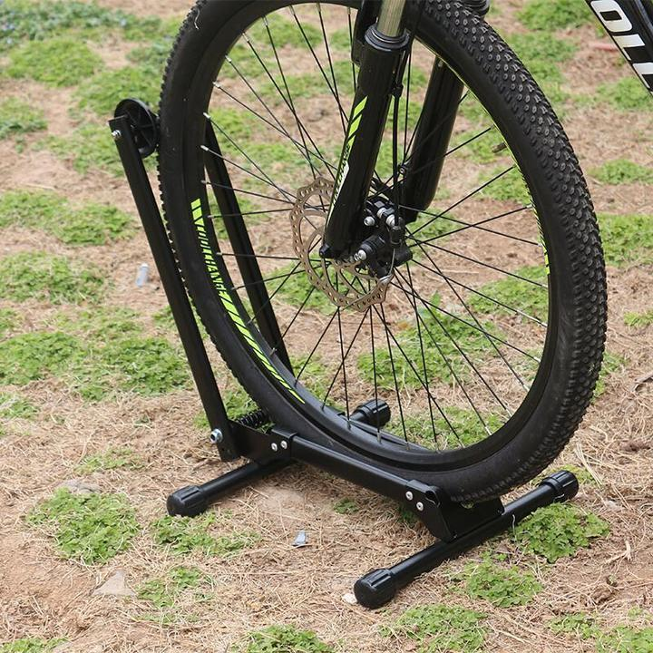 Bicycle Parking Stand Bicycle Parking Rack Aluminum Alloy - full