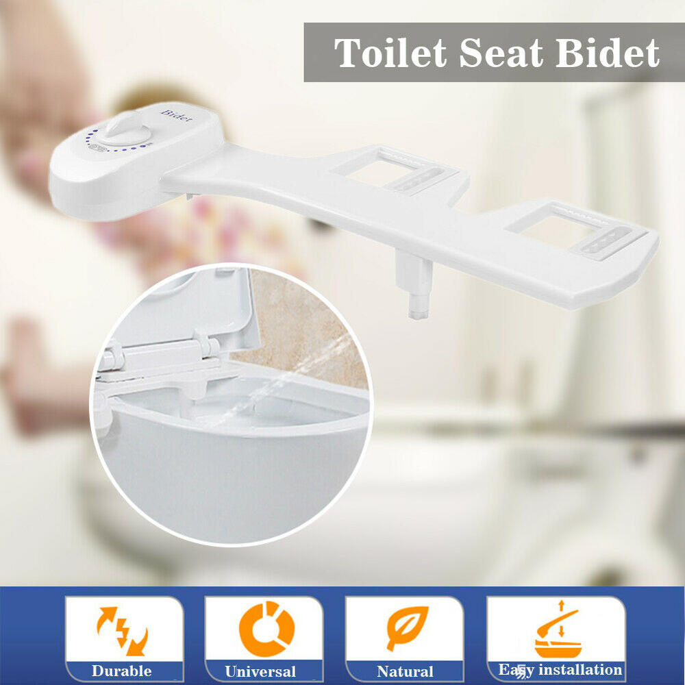 Adjustable Bathroom Bidet Fresh Water Spray Toilet Seat Nozzle Attachment for Toilet Spray Nozzle - full