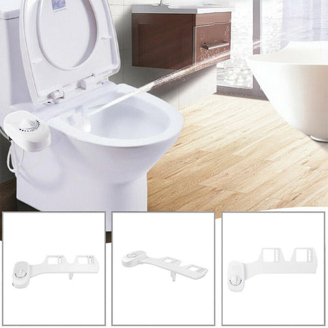 Image of Adjustable Bathroom Bidet Fresh Water Spray Toilet Seat Nozzle Attachment for Toilet Spray Nozzle - full