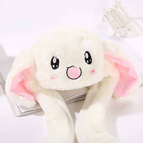 Image of Plush Bunny Hat, Rabbit Cap|Rabbit Ears Hat
