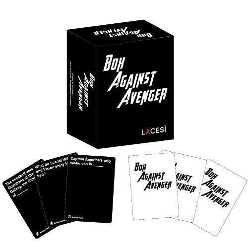 Avengers Playing Cards,Funny Game|Against Avenger With 239 Cards