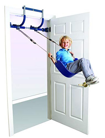 Image of Gym Indoor Playground,Plastic Ring,Rope Ladder, Doorway Gym