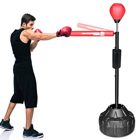 Image of Everlast Punching Bag Stand with 360° Reflex Bar