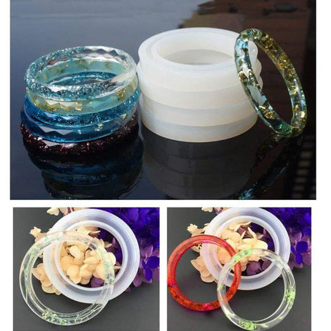 Image of DIY Crystal Glue Jewelry Mold - full