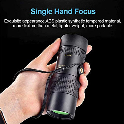 Image of Telephoto Zoom Monocular - 4K 10-300X40Mm