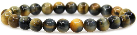 Image of Gemstone Bead Bracelets,Round Beads|Tiger Eye Bracelet